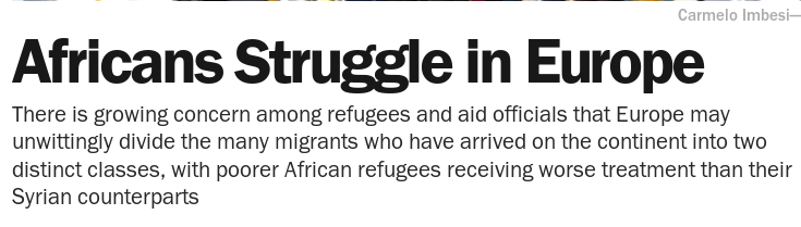 Siriani in Germania. E il resto d'Europa si arrangi /img/africans-struggle-in-europe.png