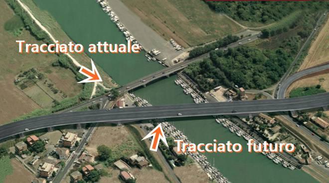 Ponte della Scafa, nel 2018 e oltre /img/ponte-della-scafa-tracciato.jpg